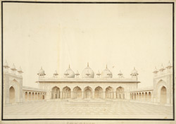 Pearl Mosque, Agra Fort 1789
